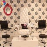 Mobília por atacado extravagante do salão de beleza da beleza da cadeira dos TERMAS da cadeira da rainha Pedicure de Foshan
