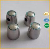 Pezzo meccanico di CNC di precisione di alluminio