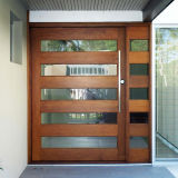 Portes en bois solides avec la peinture de placage pour la Chambre intérieure