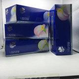 Prezzo ad alta velocità della macchina imballatrice del contenitore di scatola di carta del fazzoletto per il trucco