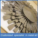 벽 배경을%s Stailess 강철 장식적인 Sunfllower 삽화