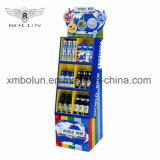 La publicidad Display stand promocional para bebida