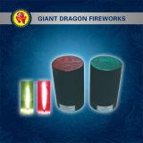 لعبة ناريّة [4سك] [2م] مقدّسة نار (أحمر) [30سك] دخان اللون الأخضر