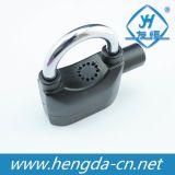 Cadeado reto do alarme do grilhão da sirene impermeável com 3 chaves (YH1243)