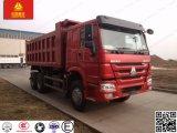 건축 트럭 Sinotruk HOWO 쓰레기꾼 팁 주는 사람 트럭 황금 황태자 6*4 336/371HP