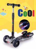 3 عجلة رفس [سكوتر] لون صورة زيتيّة لوح رذاذ لوح التزلج لأنّ جدي