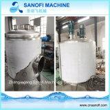 Línea de transformación el tanque de acero inoxidable de mezcla del almacenaje