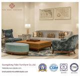 La mobilia casuale dell'hotel per il salotto dell'ingresso con il sofà ha impostato (HL-2-1)