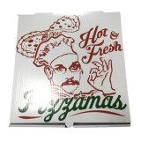 Carton ondulé à pizza italienne pour gros