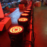 Luz al aire libre de la IGUALDAD del patio LED de la etapa de IP65 24X12W RGBW