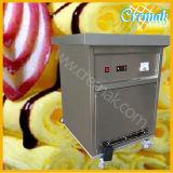 단 하나 팬 타이란드 찬 격판덮개를 가진 롤에 의하여 튀겨지는 아이스크림 기계