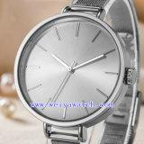 Orologio classico dell'OEM dell'acciaio inossidabile della lega (WY-G17006A)