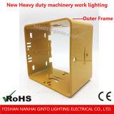 Nuevamente 60W E-MARK de la luz del trabajo del camino LED para la iluminación resistente de la maquinaria