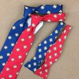 100 % soie imprimés Handmade cravate pour les hommes