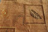 Tissu de capitonnage de Chenille de modèle de lame (FTH31190)
