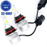 Lightech Faro Led de alta potencia 36W 8000lumen Altas Luces bajas COB S2 9007 faros LED para autos