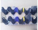 Venta caliente recubierto de PVC de efecto invernadero / Resorte de alambre de resorte Clip con el perfil de bloqueo