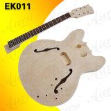 Nécessaires de guitare électrique du prix usine de vente en gros de guitare du jazz Aj335 DIY