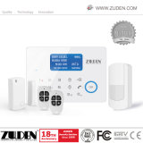 Accueil de l'alarme GSM sans fil filaire avec réseau GSM PSTN double