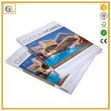 Impresión perfecta del libro obligatorio de la cubierta suave de la alta calidad