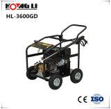 Rondelle à haute pression d'essence avec quatre roues (HL-3600GD)