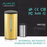 Распределитель мыла руки датчика нержавеющей стали туалета AK1205 вспомогательной коммерчески установленный стеной автоматический жидкостный