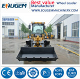 Eoguem Zl12 1.2ton Mini/Small Rad-Ladevorrichtungs-Bauernhof-Ladevorrichtung in China