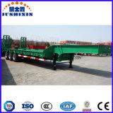60 Tonnen-hydraulischer niedriger Bett-halb Schlussteil