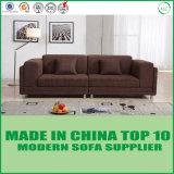 Софа места влюбленности ткани Manufactor оптовая Brown китайской мебели