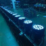 DMX 512 18PCS*15W RGBWA紫外線LEDの同価の段階ライト