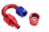 Guarnición modificada para requisitos particulares flexible de aluminio del aire de PTFE para competir con la línea kit