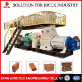 máquina de fabricación de ladrillos de arcilla totalmente automática de China