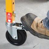 '' Verschluss-Fußrolle des harten Gummi-5, Hochleistungsbaugerüst-Fußrolle