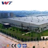 중국은 창고를 위한 건축 공장 빛 강철 구조물 건물을 조립식으로 만들었다