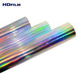 140 de 150 mic mic diversos holográfico de Color de la película de PET para máscara