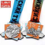 安い高品質のカスタム金属はメダルを放つ