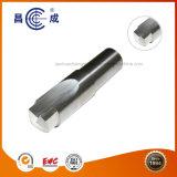 Alta precisión de OEM HRC45/55/60/65 Flauta solo perfil de carburo sólido final Molino de corte en ángulo utilizado en torno CNC personalizado disponible