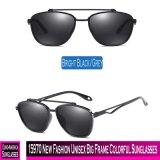 15970 neuer Form-grosser Unisexrahmen-bunte Sonnenbrillen