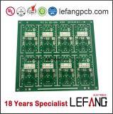 Placa de circuito impresso grossa do PWB do cobre da solda verde com Lf-HASL