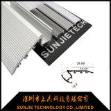 Aluminiumtreppen-Profil des Walkover-LED für Treppen-Beleuchtung