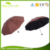 Цветастый UV Coated 3 зонтик печати створки 10K