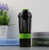 Пластиковый Joyshaker спорта бутылка воды 500 мл, белка расширительного бачка вибрационного сита