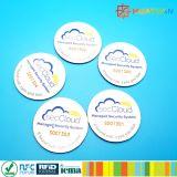 13.56MHz ISO18092 Ntag213 mini inlay étiquette NFC pour le produit de l'authentification