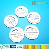 13.56MHz ISO18092 Ntag213製品の確認のための小型NFCの象眼細工のラベル