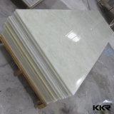 Verde traslucido Corians di superficie solido acrilico del comitato di parete