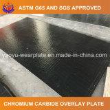 Хром биметаллическую пластину из карбида вольфрама сварки износной пластины