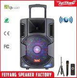 Altofalante móvel Fg-12 do karaoke de Bluetooth do altofalante do trole