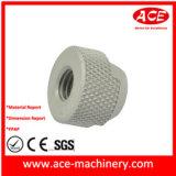 Partie du moteur d'usinage CNC en acier inoxydable