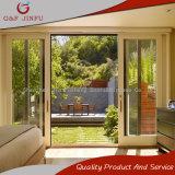 Супер качества алюминиевые раздвижные двери снаружи двойные стекла задней двери