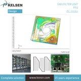 Фильтр вентилятора арбитра национальной категории подразделений фильтр HEPA для класса100 чистой комнате